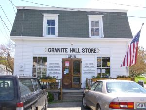 Round Pond's Granite Hall store