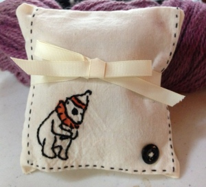 Lavender sachet pillow