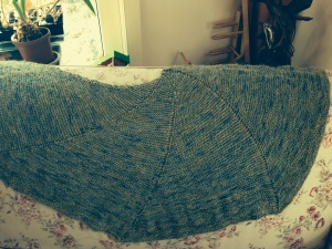High Plains Drifter Shawl by Kirsten Hipsky