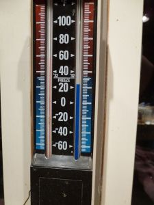 Can't believe the temperature!