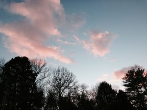 Deceptive sky does not show how bone-chilling the temperatures are