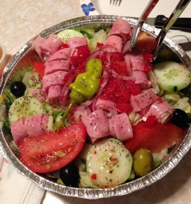 A real NJ antipasto salad!