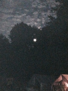 Grainy, but interesting, super moon