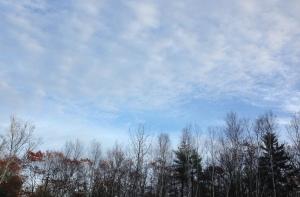 Gentle Sunday skies