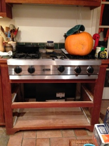 Stove top with no drawers underneath
