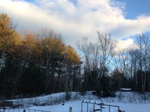 A frigid but beautiful afternoon